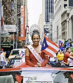 Miss Puerto Rico - New YorkMy Website: Palm Beach Wedding Photography My Facebook: Digital Gold FacebookHello everyone! Here's one from the Puerto Rican Day Parade in New York City. I was allowed access to the staging street where the whole parade was lined up and ready to go. It allowed me the opportunity to get in front of all of the cars (since they weren't moving) and get this really cool POV.The Puerto Rican Day Parade takes place annually along Fifth Avenue in New York City, on the…