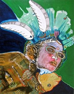 """Saatchi Online Artist Cora de Lang; Painting, """"DE LAS NIEVES"""" #art"""