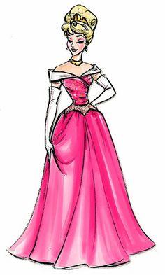 Disney Princess Designer Collection Aurora Concept Art | Flickr - Photo Sharing!