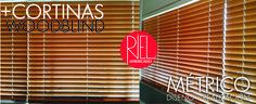 Cortinas woodblind Rielamericano. Blinds, Home Decor, Interior Design, Decoration Home, Room Decor, Shades Blinds, Blind, Home Interior Design, Draping