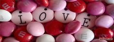 Candy Love Valentine Day Facebook Cover Photo Profile Banner