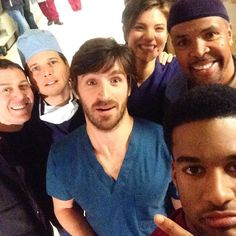 Never a dull moment during the #NightShift!