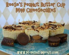 Reese's Peanut Butter Cup Mini Cheesecake