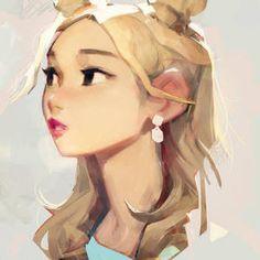 samuelyounart - Student, Digital Artist | DeviantArt Character Illustration, Illustration Art, Illustrations, Female Character Design, Character Art, Character Concept, Art Sketches, Art Drawings, Poses