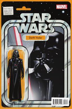 Star Wars: Darth Vader #1 Action Figure Variant by John Christopher