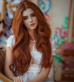 Fashion Glueless Copper Red Long Natural Wavy Free Part Lace Front Wigs Pretty Hairstyles, Bride Hairstyles, Wig Hairstyles, Men's Hairstyle, Funky Hairstyles, Formal Hairstyles, Beautiful Girl Image, Beautiful Long Hair, Beautiful Eyes
