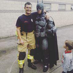 Batman and his hero.
