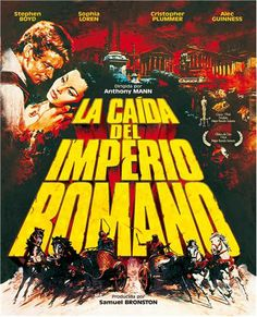 La caída del Imperio Romano (1964) EEUU. Dir.: Anthony Mann. Aventuras. Drama. Cine épico. Histórico. Antiga Roma - DVD CINE 1919