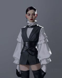 did anyone point out artwork Jedi-Outfit? Harajuku Mode, Estilo Harajuku, Harajuku Fashion, Harajuku Style, Jedi Outfit, Stage Outfits, Cool Outfits, Look Fashion, Fashion Outfits