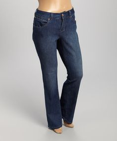 Another great find on #zulily! Blue Dive Andie Straight-Leg Jeans - Plus by Jag Jeans #zulilyfinds