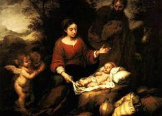 Murillo, El nacimiento de Cristo (Nuevo Testamento)