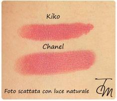 Chanel Rouge Coco Lip Colour in Mademoiselle dupe >> KIKO Matte Lipstick in No 286 Kiko Lipstick, Mat Lipstick, Chanel Lipstick, Lipstick Swatches, Makeup Swatches, Beauty Dupes, Beauty Makeup, Nail Polish Dupes, Make Up Dupes