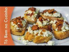 (10) BRUSCHETTA de RICOTA, BACON e MEL - Receita de bruschetta de ricota (Episódio #21) - YouTube