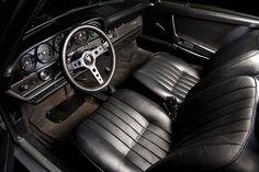 Steve McQueens Porsche 911 S Interior