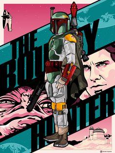 Boba Fett — The Bounty Hunter by Salvador Anguiano