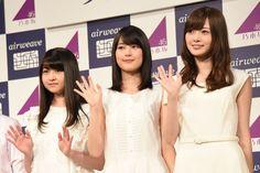 左から伊藤万理華、生田絵梨花、白石麻衣。