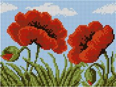 This Pin was discovered by Rab Easy Cross Stitch Patterns, Simple Cross Stitch, Cross Stitch Flowers, Cross Stitch Pillow, Cross Stitch Embroidery, Tapestry Crochet Patterns, Album Design, Ribbon Work, Bargello