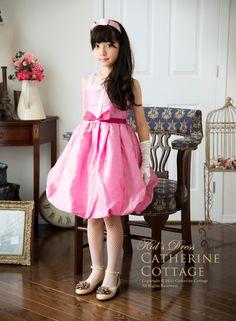 子供ドレス 子どもドレス スパンコ−ル バルーンドレス  110-140cm