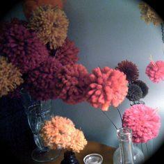pompom blossoms