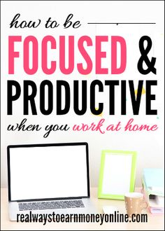 Are you always distracted when you try to do your work from home? I've been working from home for almost 8 years, and I've learned a thing or two about keeping my focus and staying productive. These are my best tips.