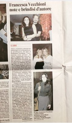 T'INNAMORERAI SENZA PENSARE | Presentazione del libro di Francesca Vecchioni al Margutta vegetarian food & art | Il Messaggero Cronaca di Roma 5 Novembre 2015