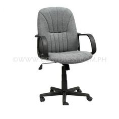 Product Code: MBC-146  Sale Price:P2 999.00  Description: Ergodynamic™ Mid Back Office Chair, Fabric Upholstery, 300mm Nylon Base & Nylon Casters, Tilt Lock Mechanism, Swivel Function, Pneumatic Height Adjustment  Product Measures: 61L x 47W x 94-104Hcm Chair Capacity: 80kgs.  Classification: MEDIUM DUTY  Usage: OFFICE USE