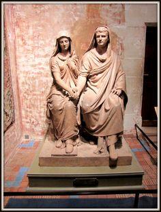 Mariage romain, sculpture d'Eugène Guillaume. Château de Blois