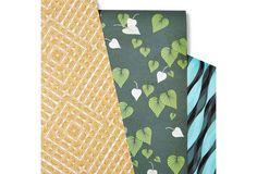 Allegra Hicks Gift Wrap Sheets at One Kings Lane