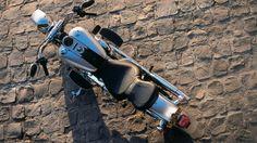 Harley Davidson Top View