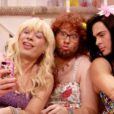 EW! on Late Night with Jimmy Fallon. A recurring skit where he and his comedy guests act like 14year girls.  Very EW!