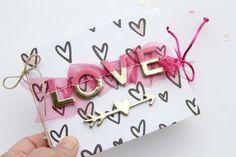 TUTORIAL MINI ÁLBUM: LOVE - en COCOLOKO