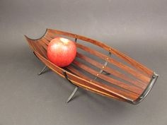 Vintage fruit basket fruit bowl Mid Century by ShabbRockRepublic