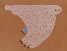 Gliding Owl by Ningeokuluk Teevee, Inuit artist Inuit Kunst, Arte Inuit, Inuit Art, Native Art, Native American Art, Native Indian, Owl Art, Bird Art, Bird Illustration