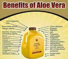 Benefits of drinking Aloe Vera Gel  Buy now from Foreverbyrebeccasamuel.myforever.biz/store
