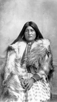Connetza ~ Chiricahua Apache at Fort Bowie ~ Lt. Charles Gatewood identified Connetza as an injured member of Chihuahua's band who had been captured with Geronimo's group.