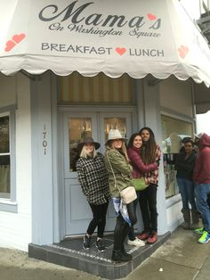 Places to eat in San Francisco- mamas for breakfast make sure you get there early it's worth the line! On Stockton street