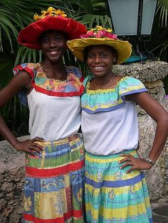 Dominican Women in Native Dress - April 2004 by arkansas traveler, via Flickr