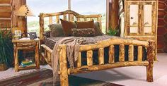 We carry this Mountain Woods Rustic Aspen Snowload II Bedroom Set, and other fine American-made rustic furniture and décor. Browse our rustic furniture catalogs now. Free Delivery to 48 states. Log Bedroom Furniture, Rustic Bedroom Furniture, Rustic Bedding, Bedroom Decor, Wood Bedroom, Furniture Plans, Lodge Bedroom, Furniture Makers, Furniture Websites