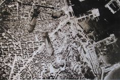 Bombs on Barcelona. Spanish civil war.