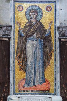 Зверинецкая мозаика: испытание эстетизмом. О византийских традициях в центре Киева | Православная Жизнь