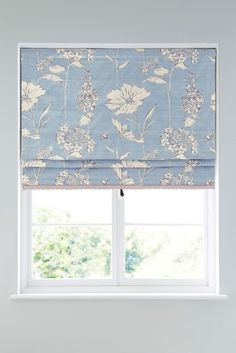 Buy Powder Blue Country Floral Roman Blind from the Next UK online shop Purple Kitchen Decor, Disney Kitchen Decor, Western Kitchen Decor, Kitchen Decor Themes, Kitchen Ideas, Country Kitchen, Country Decor, Bathroom Blinds, Kitchen Blinds