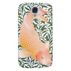 Golden Koi Fish & Green Water Plants 2