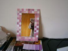 Alegremente: Venecitas baratitas Diy, Frame, Home Decor, Jars, Mosaic Artwork, Pinterest Board, Mesh, Tiles, Rugs
