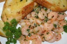 Shrimp, Bacon, Meat, Foods, Recipes, Food Food, Food Items, Pork Belly