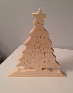 Christmas Tree Puzzle by ValecraftGifts on Etsy