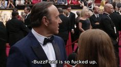 Kevin Spacey Hilariously Answers Questions That Female Celebrities Get Asked On The Red Carpet