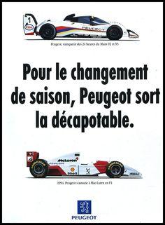 McLaren Peugeot F1