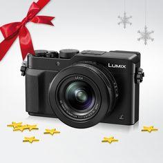Auch bei Kerzenlicht tolle Fotos: Unser Gewinn hinter Tür 10 ist die lichtstarke LUMIX LX-100.