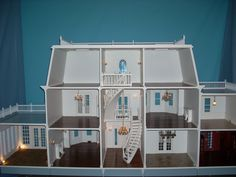 dollhouse plans | Foxhall Manor Doll House Dollhouse Pictures