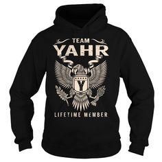 Team YAHR Lifetime Member - Last Name, Surname T-Shirt